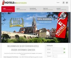 Überarbeitet: Die Regensburger Hoteliers haben ihr Portal mit einer Echtzeit-Buchungsmaske versehen