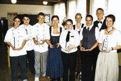 Die Sieger des Jugendwettbewerbs der Hotelberufsschule Viechtach. <tbs Name=