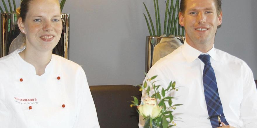Gutes Team: Anke Westermann und Manuel Kraas