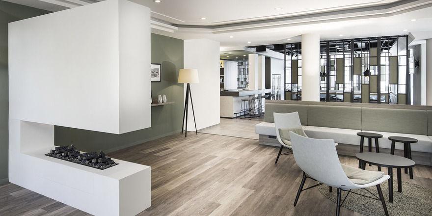 Klare Linien: Das neue Design im Nestor Hotel Neckarsulm