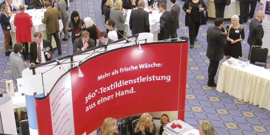 Produktneuheiten, Informationen und Kontaktmöglichkeiten: Schon bei der Hotelexpo 2015 im Maritim Hotel Berlin war das Interesse seitens der Hoteliers sehr groß.