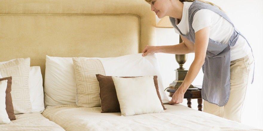 Leere Betten: Das kommt in vielen Stadthotels öfter vor, wenn gerade kein Event ansteht