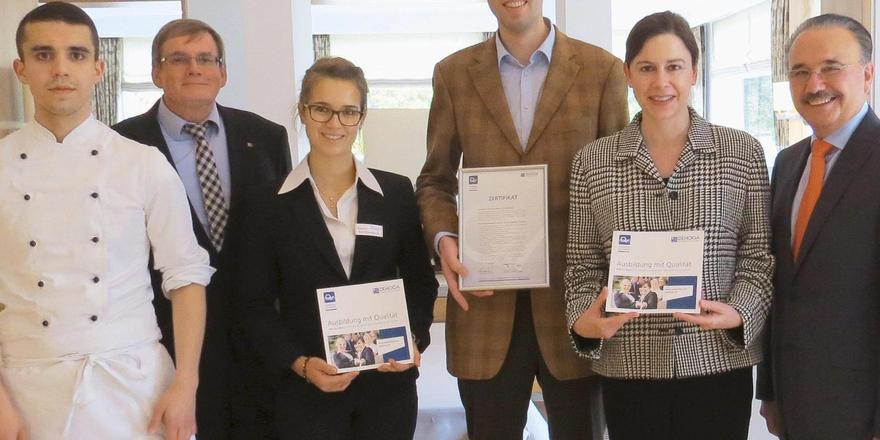 Ausbildung mit Qualität: Dafür steht unter anderem das Hotel Jagdhaus Wiese in Schmallenberg.