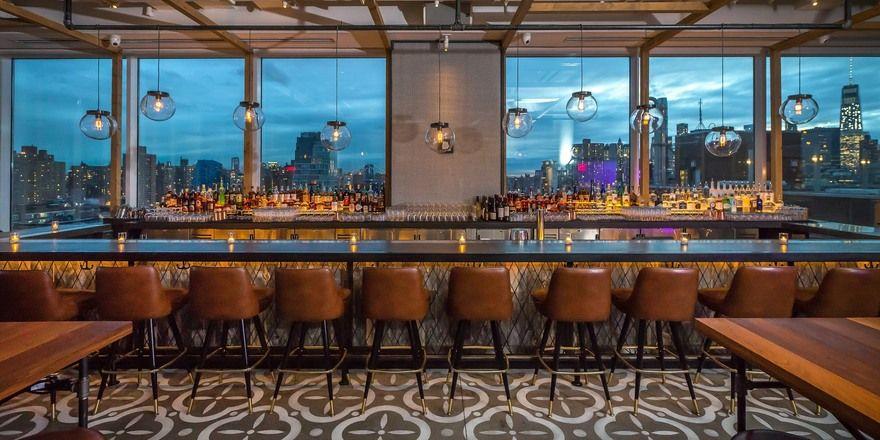 Zum Abschalten: Die Bar des Hotel Indigo Lower East Side