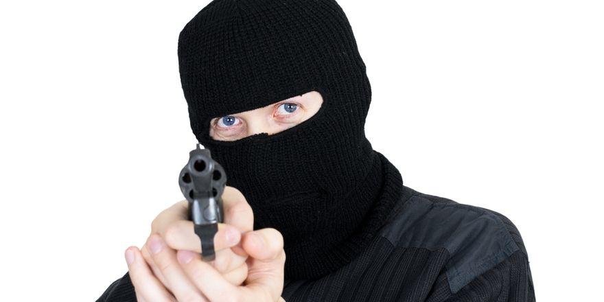 Überfall: Zwei Kriminelle sind am Montag abend in ein Hotel in Mönchengladbach eingedrungen