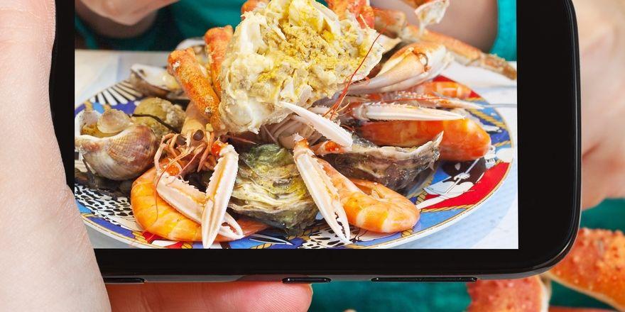 Im Trend: Essen fotografieren und anschließend in Sozialen Netzwerken posten