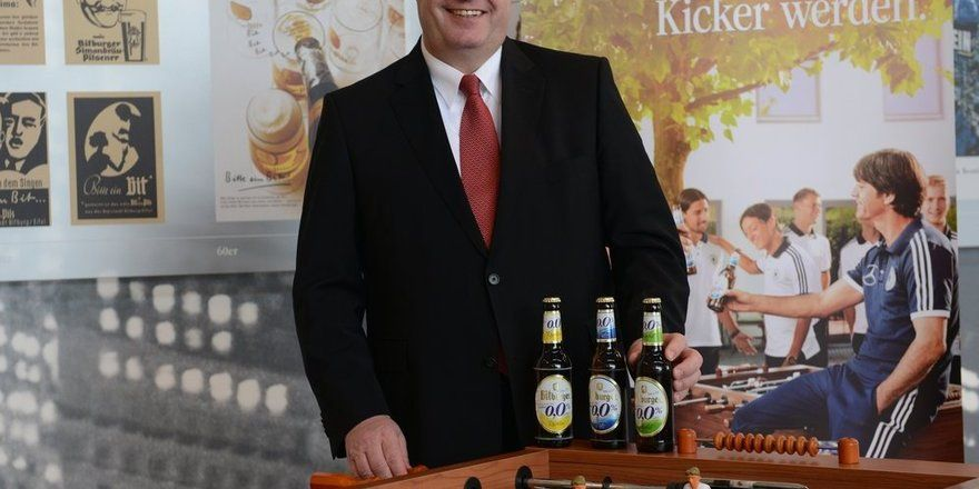 Sieht Potenzial im alkoholfreien Segment: Dr. Werner Wolf, Sprecher der Geschäftsführung der Bitburger Braugruppe