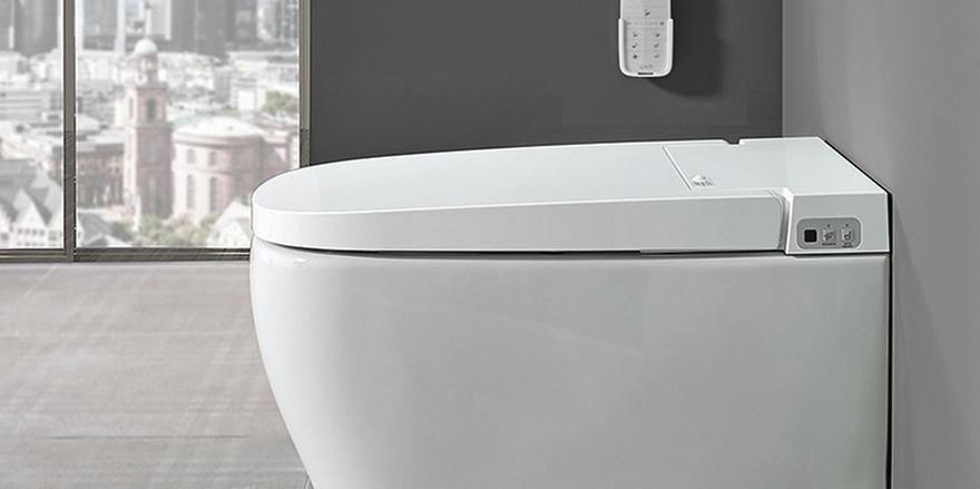 preisgekr ntes wc mit duschfunktion allgemeine hotel und gastronomie zeitung. Black Bedroom Furniture Sets. Home Design Ideas