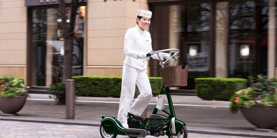 Neuartiges Gefährt: Das Pencycle ist ein Stepper auf Rädern
