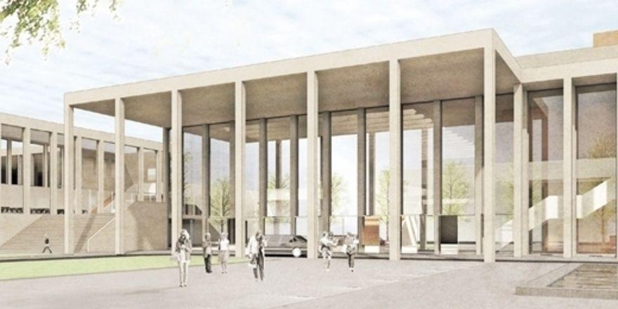 Erste Pläne: Das Rhein-Main Congress Center wird bis 2018 völlig neu errichtet
