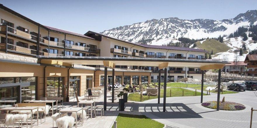 Großer Sprung nach vorn: Das Panoramahotel Oberjoch liegt im neuen AHGZ-Facebook-Ranking auf Platz zwei