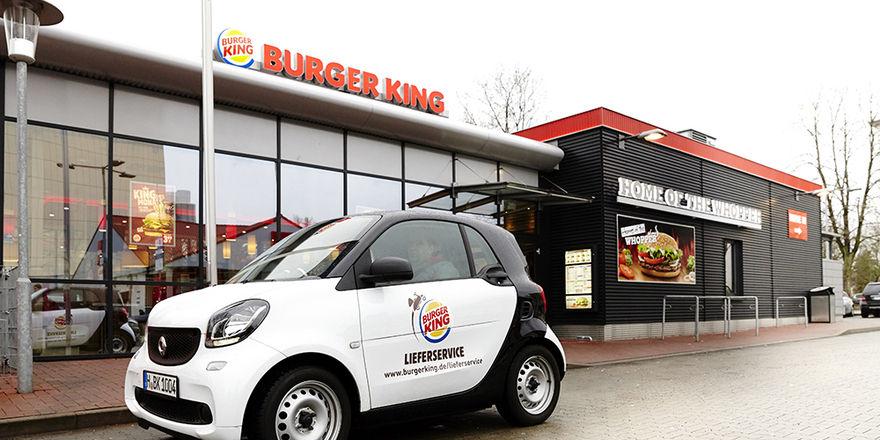 Macht mobil: Die Fastfood-Kette Burger King