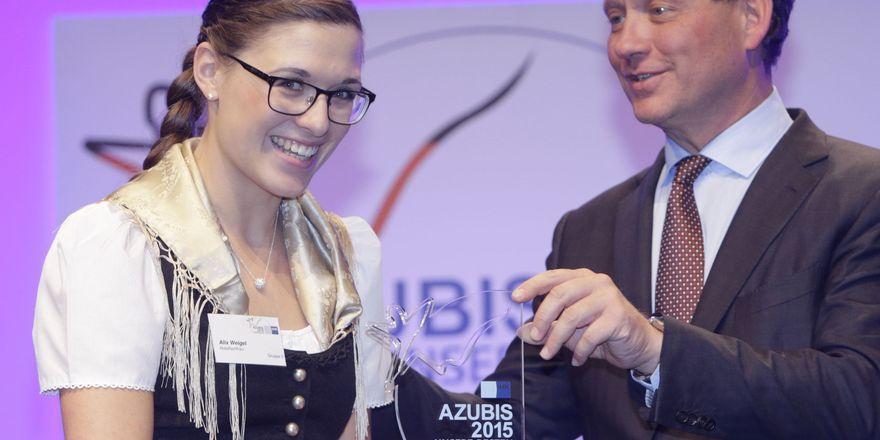 Gehört zu den besten Azubis Deutschlands: Alix Weigel, Hotelfach-Azubi in der Traube Tonbach