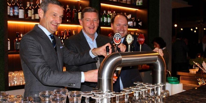 Neue Gastro im Golfclub Fleesensee: Die Verantwortlichen haben bereits ein Pre-Opening gefeiert