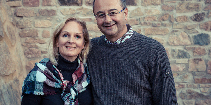 Starten im Odenwald: Angelika Kissel und Manfred Schwarz