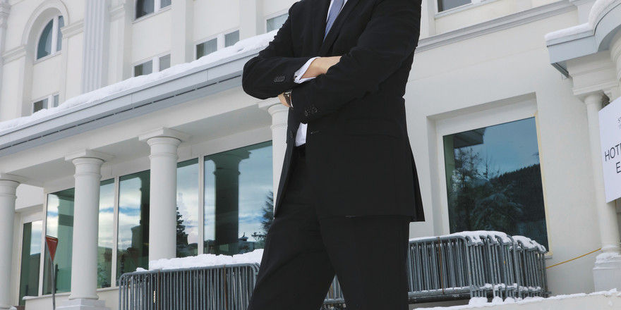 Gastgeber der Mächtigen: Thomas Kleber