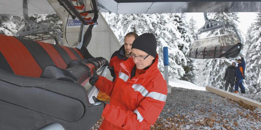 Neue Bergbahnen: Am Oberjoch wurde für diese Wintersaison kräftig investiert.