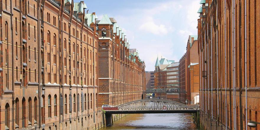 Attraktion Speicherstadt: Die Hoteliers in Hamburg haben an den Wochenenden deutschlandweit die höchste Auslastung.
