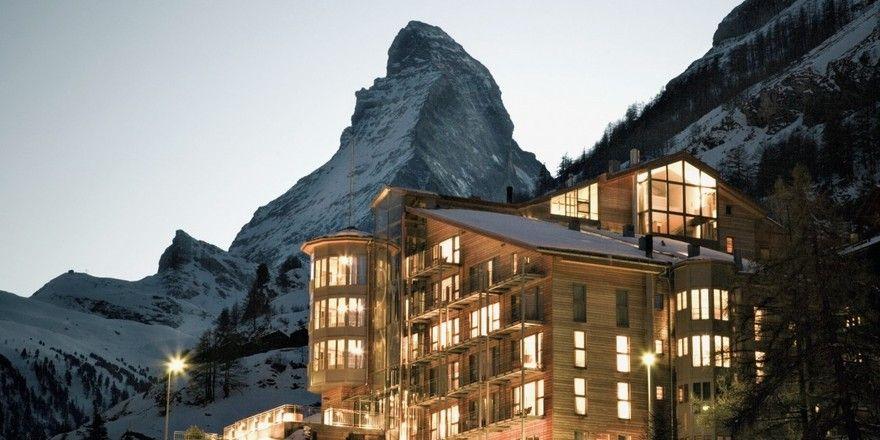 Gut bewertet: The Omnia in Zermatt