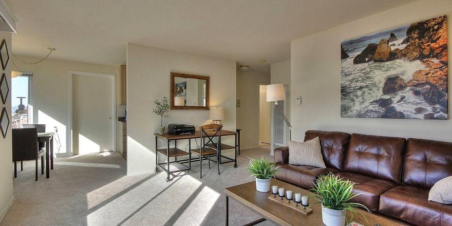 Privates Apartment: In San Francisco werden besonders viele geschäftliche Aufenthalte über Airbnb gebucht