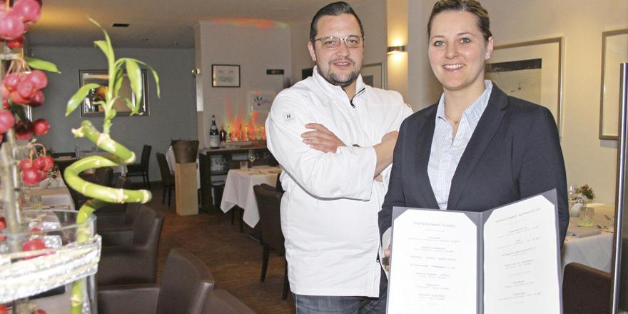 Haben sich durchgesetzt: Kirill Kinfelt und Jana Husemann in ihrem Restaurant Trüffelschwein im feinen Hamburger Stadtteil Winterhude.