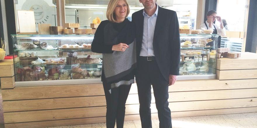 Debüt in Deutschland: Annalisa Zorzettig und ihr Mann Mauro Pirioni