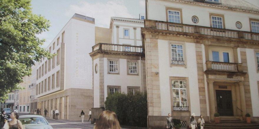So wird er aussehen: Der europäische Hof in Baden-Baden