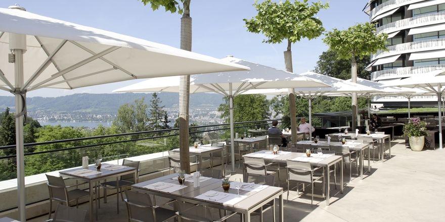 Vor der Umgestaltung: Das bisherige Gardenrestaurant im Dolder Grand bekommt ein Facelift