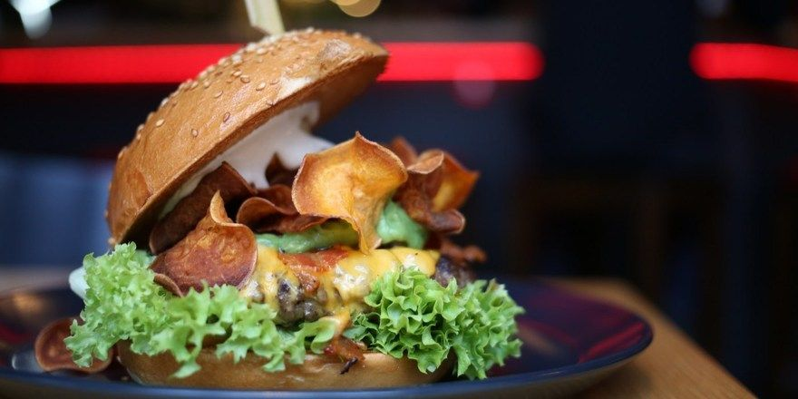 Üppig gefüllt: Burger bei Burgerheart