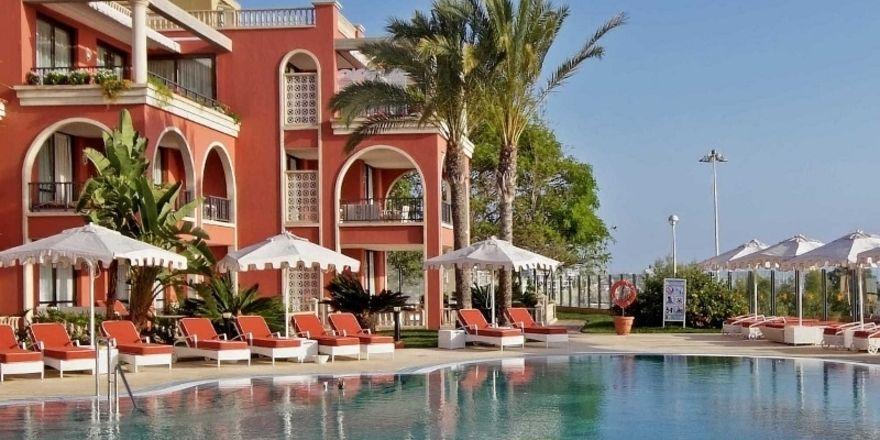 Stark in der Ferienhotellerie: Iberostar, hier das Grand Hotel Salomé auf Teneriffa