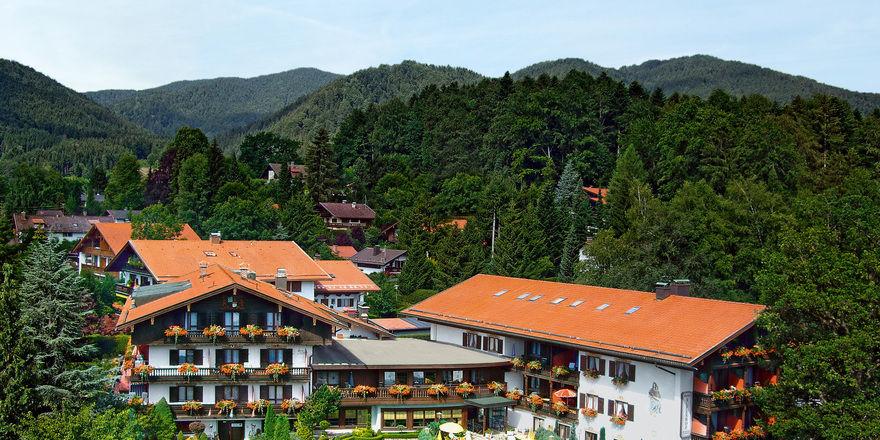 Fest etabliert: Das Hotel Alpenhof ist ein beliebtes Ferienhotel am Tegernsee