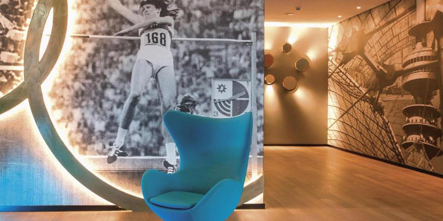 Olympia als Thema: Das Motel One Olympia Gate gehört zu den neuen Playern auf dem Münchner Markt.