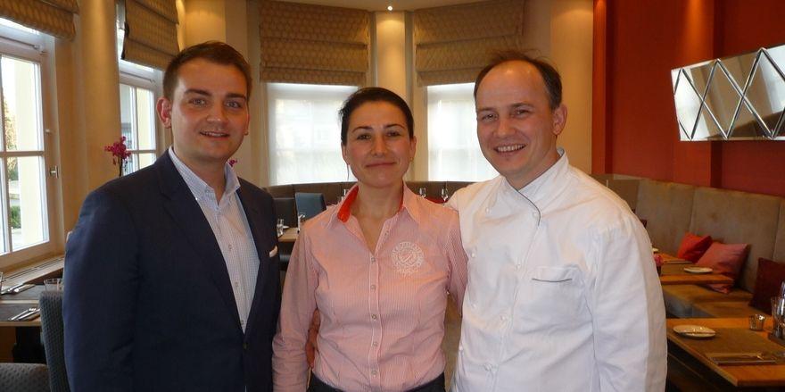 Die Macher:(von links) Tobias Nath, Anna und Anatol Elert