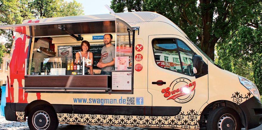 Mobile Gastronomie: Beim Foodtruck Roundup ist unter anderem ein Wagen der Marke Swagman dabei