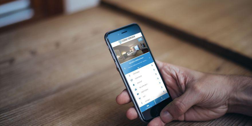 Bestellung per Handy: Das wollen die Macher des Systems Code2Order erleichtern