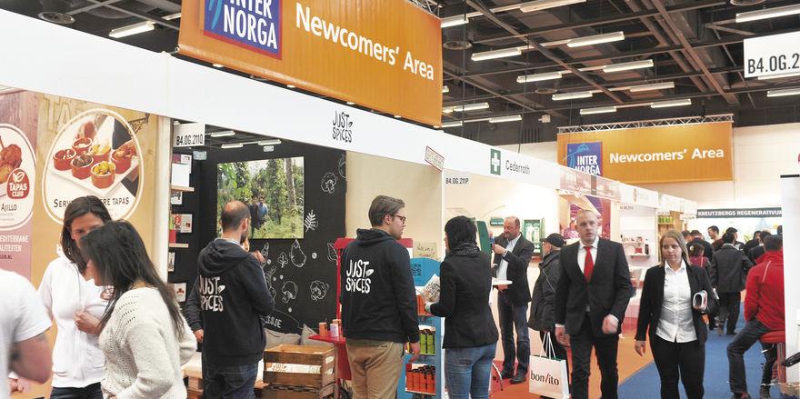 Sonderfläche für Newcomer: Die Internorga gibt Start-ups eine Plattform