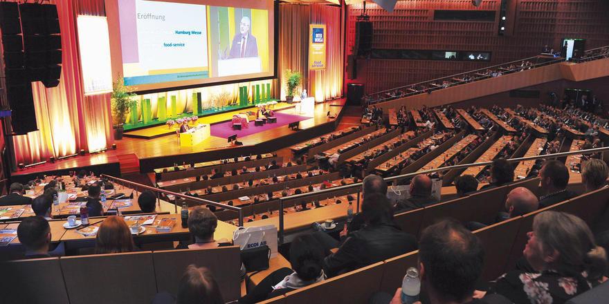 Internationales Foodservice-Forum: Die Veranstaltung im Congress Center Hamburg gehört seit Jahren zu den Highlights der Internorga.
