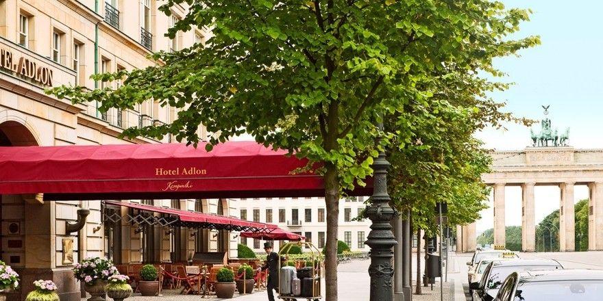 Schauplatz der ITB-Party von Kempinski : Das Adlon in Berlin. Nicht dabei: Ex-Aufsichtsratschef Selby und CEO Bernabé