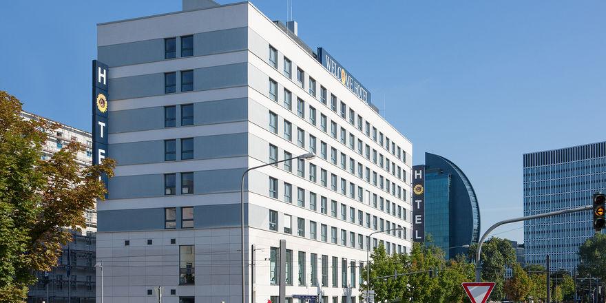 Ein Welcome-Vorzeigehaus: Das Hotel in Frankfurt am Main