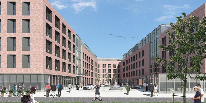 Bald im Bau: Das Comfort Hotel Monheim am Rhein