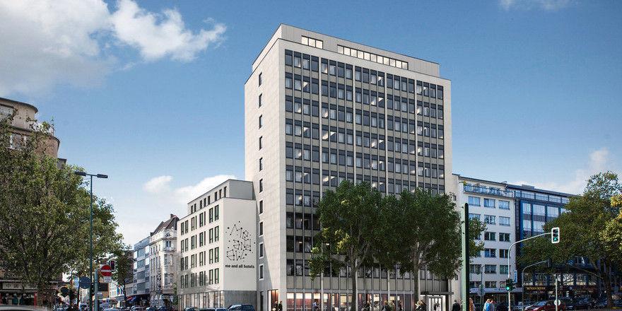 Hier kommt es hinein: Das erste Me and All-Hotel wird in der Düsseldorfer Immermannstraße zu finden sein