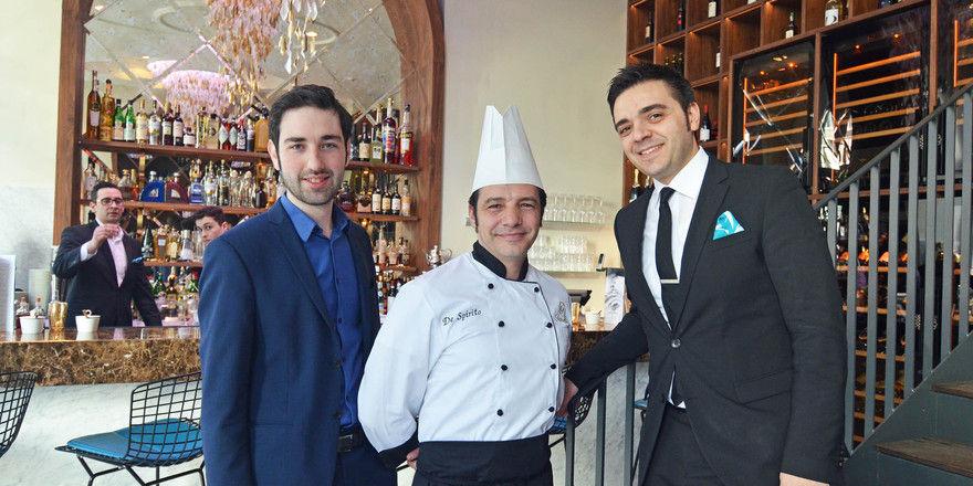 Favoloso-Trio: (von links) Alexander Nava, Dario De Spirito und Angelo De Marco