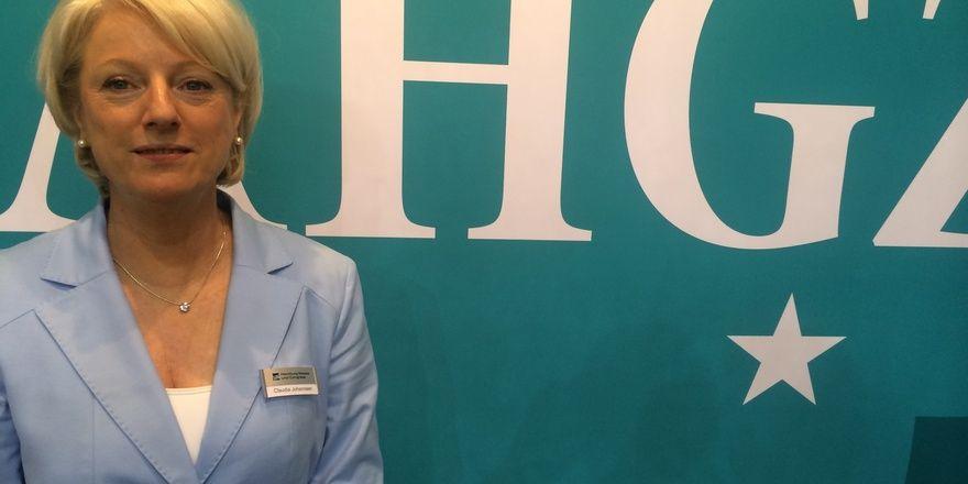 Optimistisch gestimmt: Claudia Johannsen, Chefin von der Fachmesse Internorga Hamburg