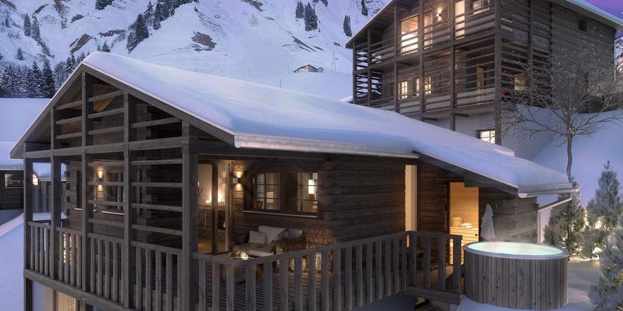 Idyllisch: Von der Terrasse aus können Gäste ins Tal blicken