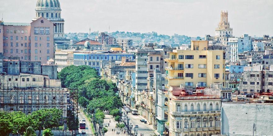 Startschuss: Die erste amerikanische Hotelkette übernimmt drei Hotels in Havanna.