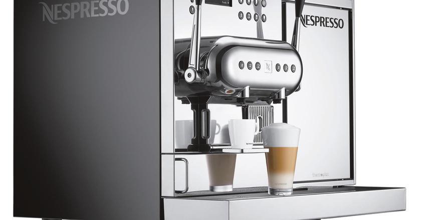 Kompaktere Nespresso Maschine Allgemeine Hotel Und Gastronomie
