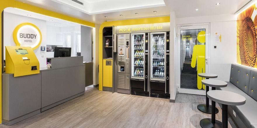 buddy hotel m nchen gestartet allgemeine hotel und gastronomie zeitung. Black Bedroom Furniture Sets. Home Design Ideas