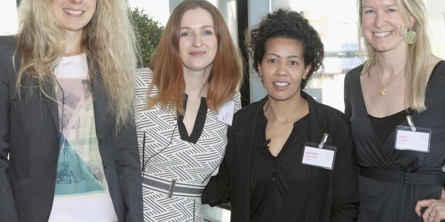 Gründerinnen: (von links) Sabine Engel, Alla Kolpakova, Jennifer Vestweber und Nina Schröder.