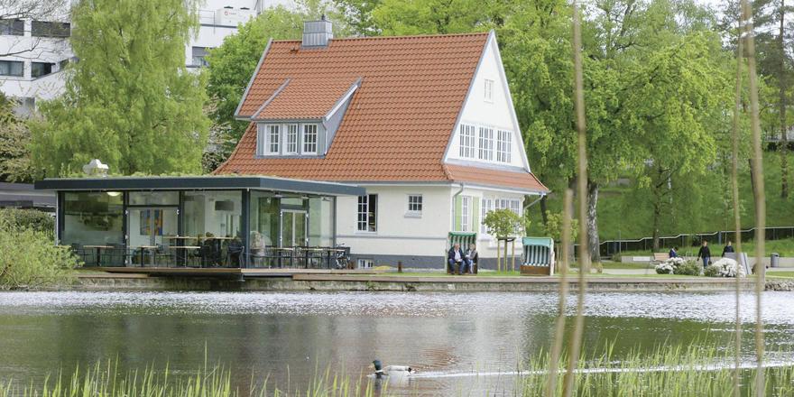 Idyllisch: Das Café Goldmarie am Segeberger See bietet sich für Ausflügler zur Einkehr an.