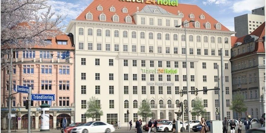 Travel 24 hotel soll weiter gebaut werden allgemeine for Designhotel leipzig